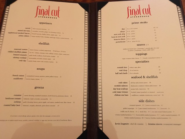 Final Cut Steakhouse
