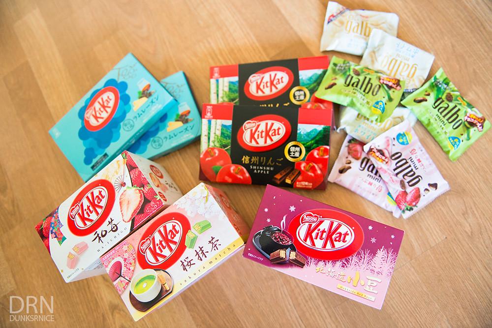 Kit Kats.