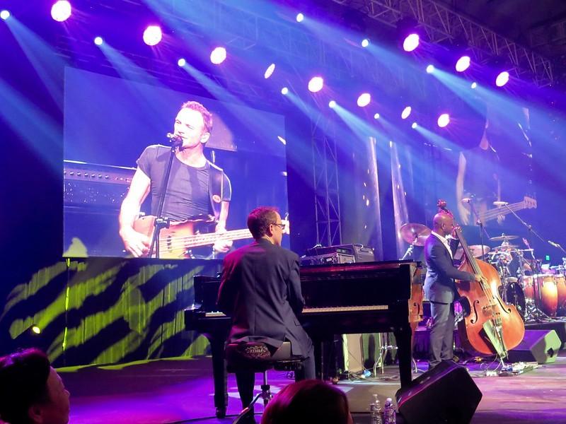 Sting in Manila