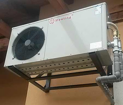 Akár egy nap alatt is telepíthetőek a levegő-víz hőszivattyús fűtés.