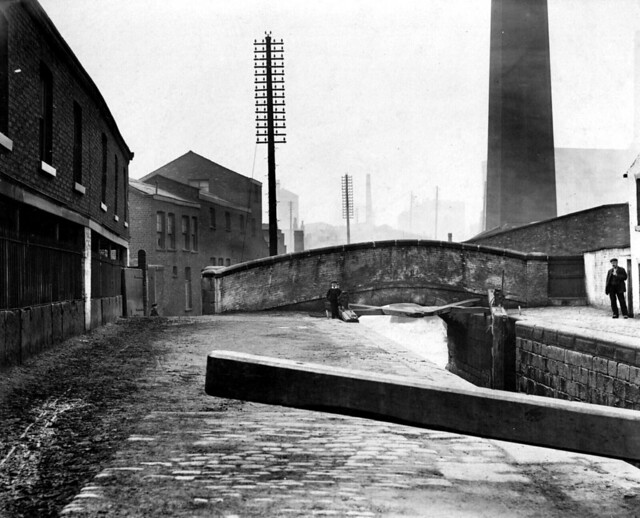 Ancoats, Royle Bridge, over Rochdale Canal 1908