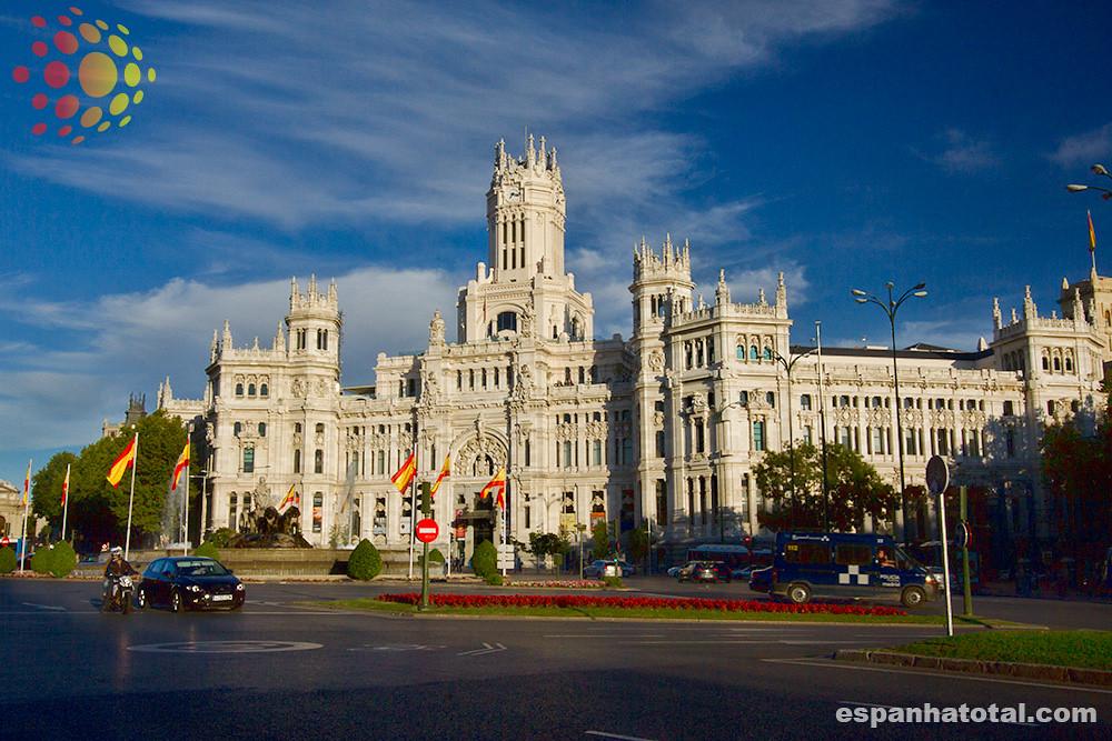 Palacio De Cibeles Centrocentro Madrid Traveller