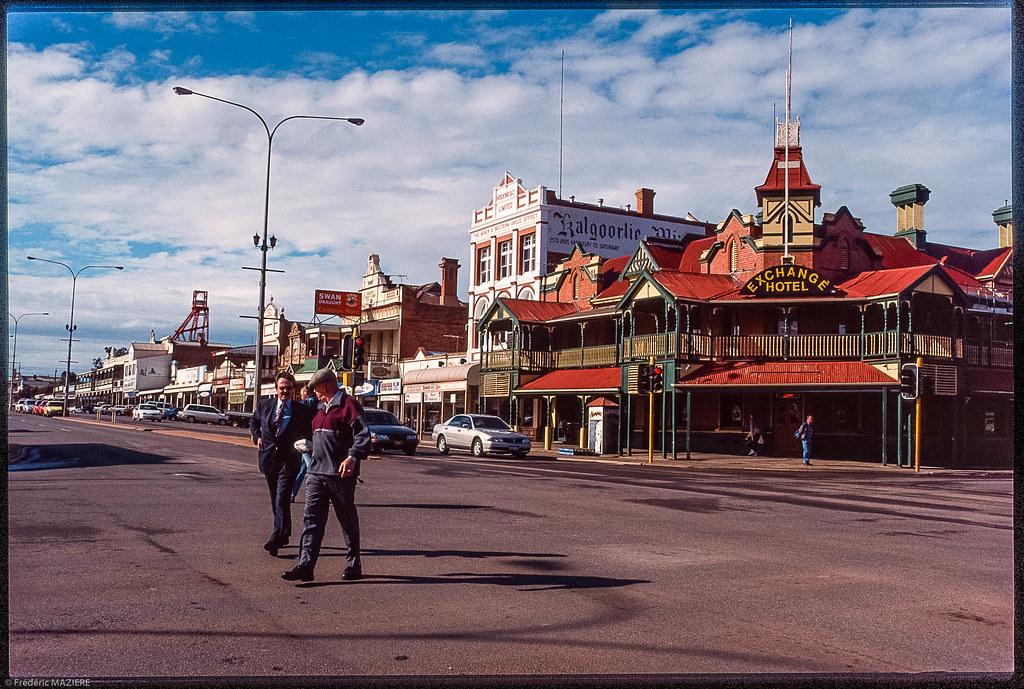 kalgoorlieboulder map goldfieldsesperance western