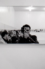 Self Portrait at the MoMa opening  New York 1991