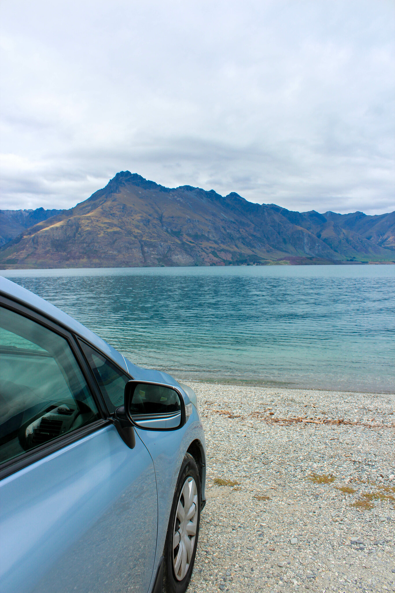 Stopover at Wilson Bay Reserve (along Glenorchy-Queenstown Rd)