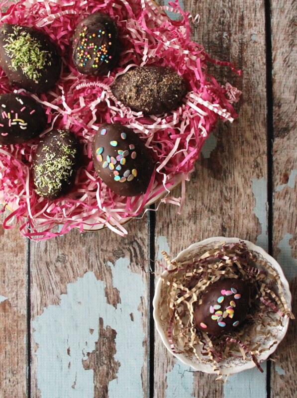 Maple Cream Easter Eggs