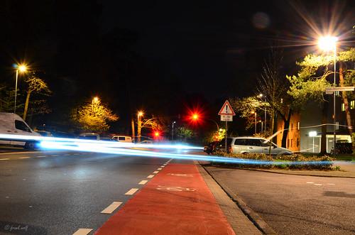 Radfahrstreifen Kurt-Schumacher Straße