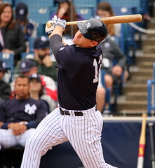 Chase Headley at the plate