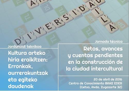 #GetxoICC2016 GETXO: Construcción de la Ciudad Intercultural