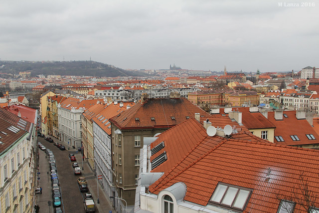 Prague from the Vysehrad