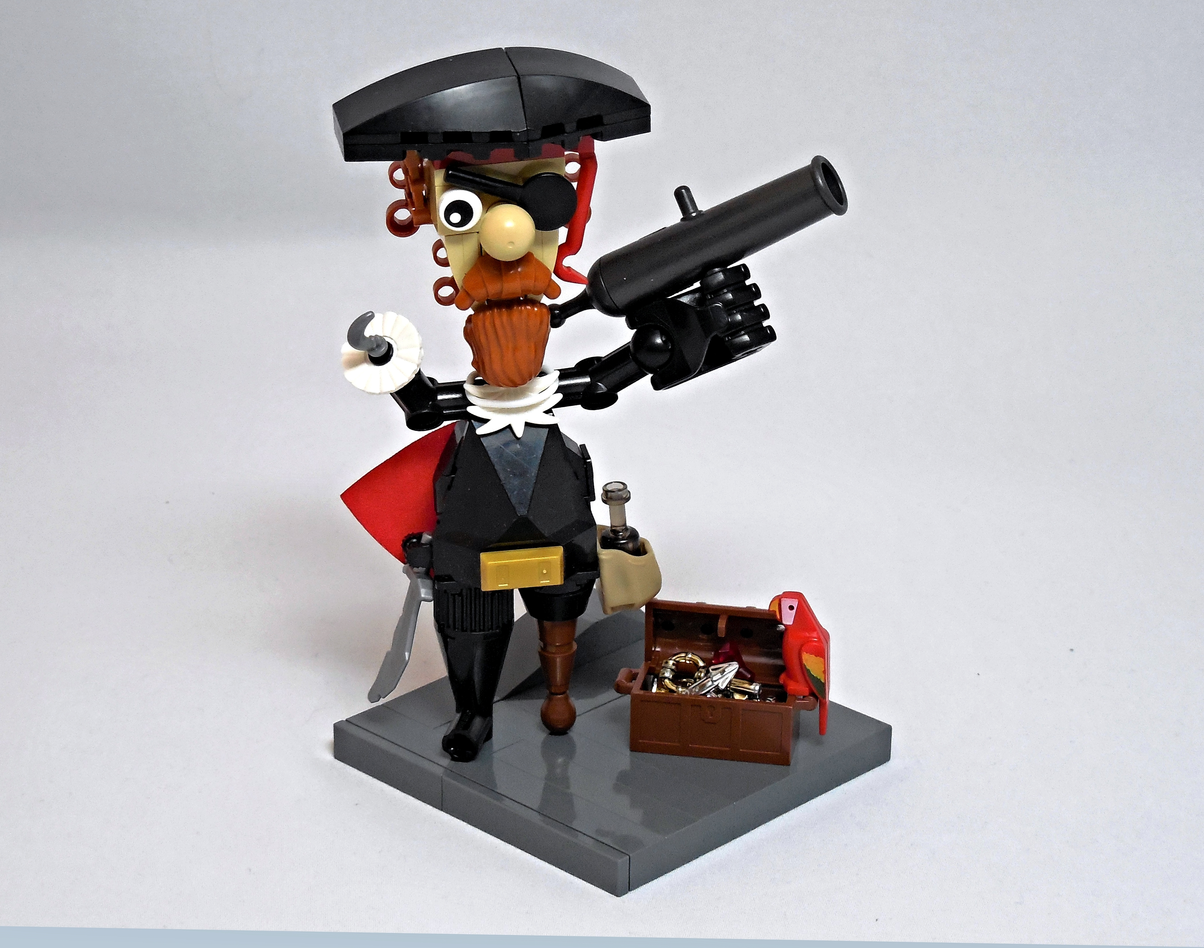 LEGO® MOC by Vitreolum: Stumpy McHook