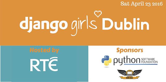 Django Girls Dublin blog header