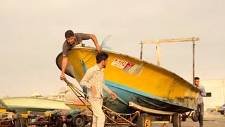 Boat Ramp • Fishermen Launching Freestyle • Bandar Abbas • IRAN-17