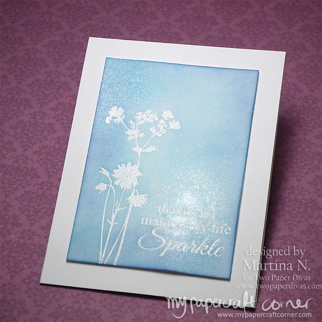 Thank you card - Card #426