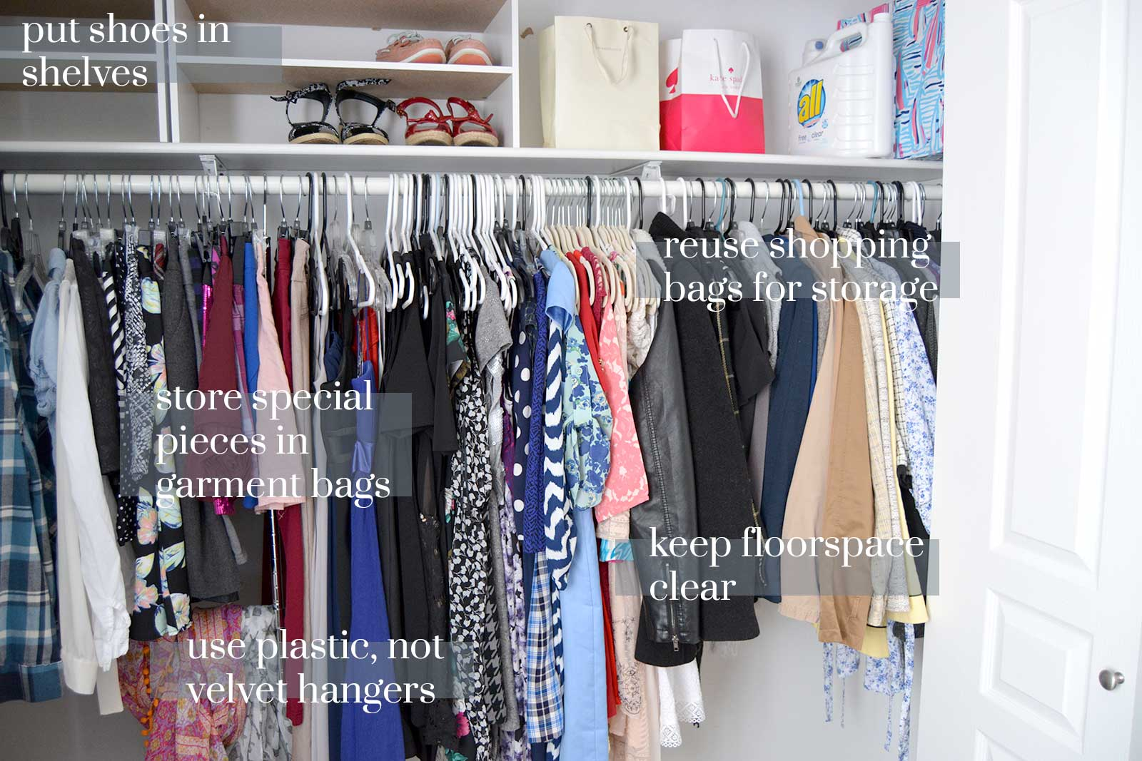 Five Must Have Spring Cleaning Tips for Your Closet