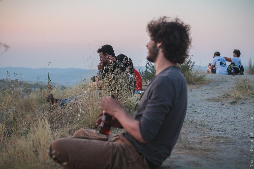 Sunset in Göreme, Cappadocia / Закат в Гёреме, Каппадокия