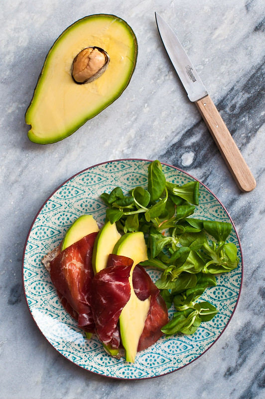 Avocado e bresaola post