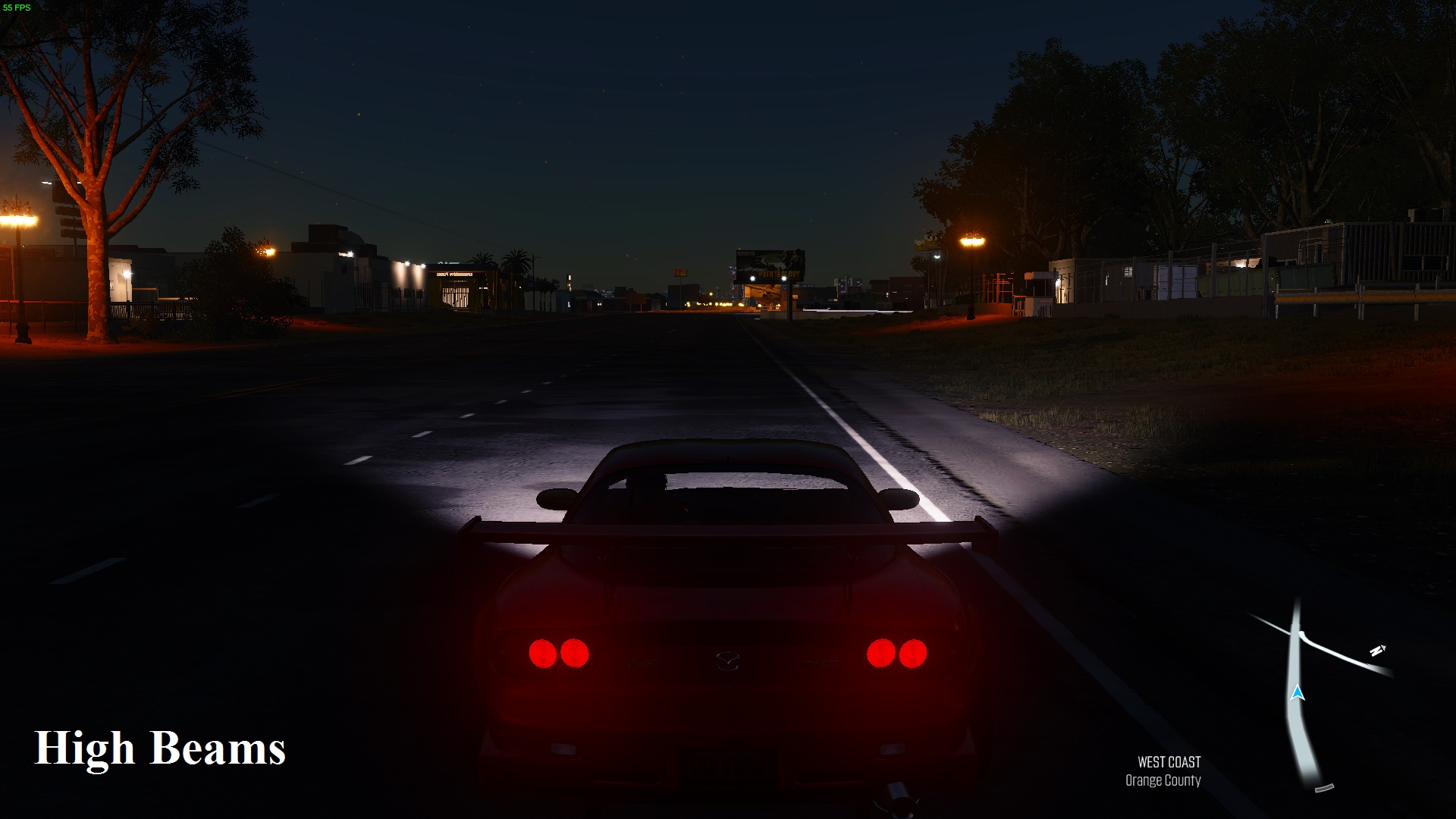 So I Tried It And Sure Enough The Low And High Beam Function Actually Still  Operated Like In The Last Version. I Have Included Screenshot Of How It  Looks: