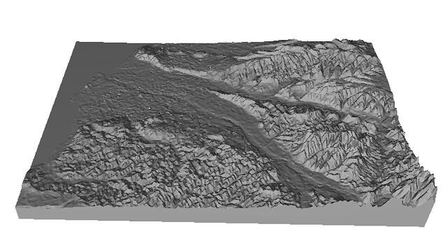 新竹3D地形模型
