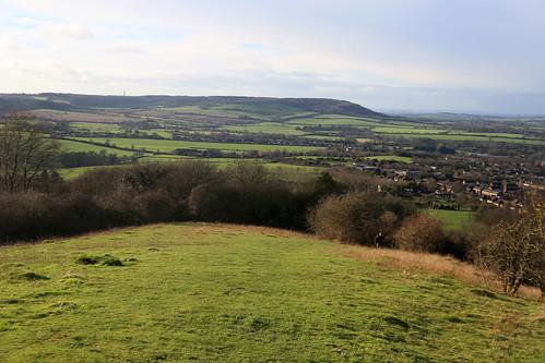 View from Whiteleaf Hill near Princes Risborough