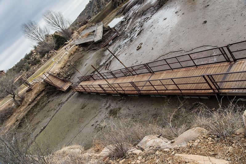 Fain Lake Walking Bridge