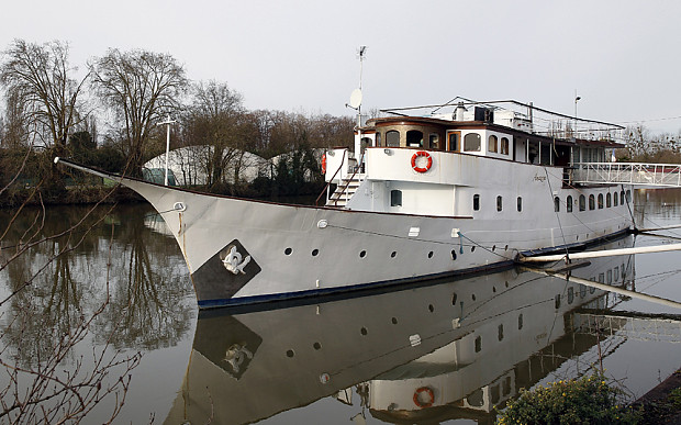 Яхта премьер-министра Британии Уинстона Черчилля Amazon