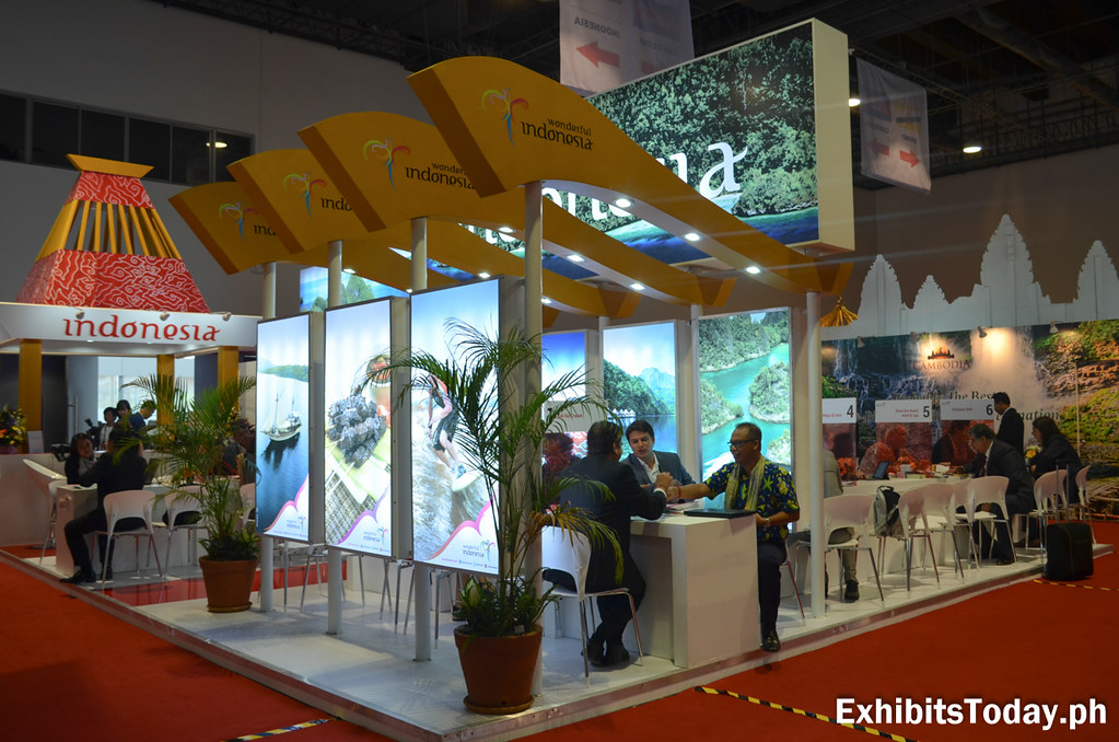 Wonderful Indonesia Trade Show Display (back)