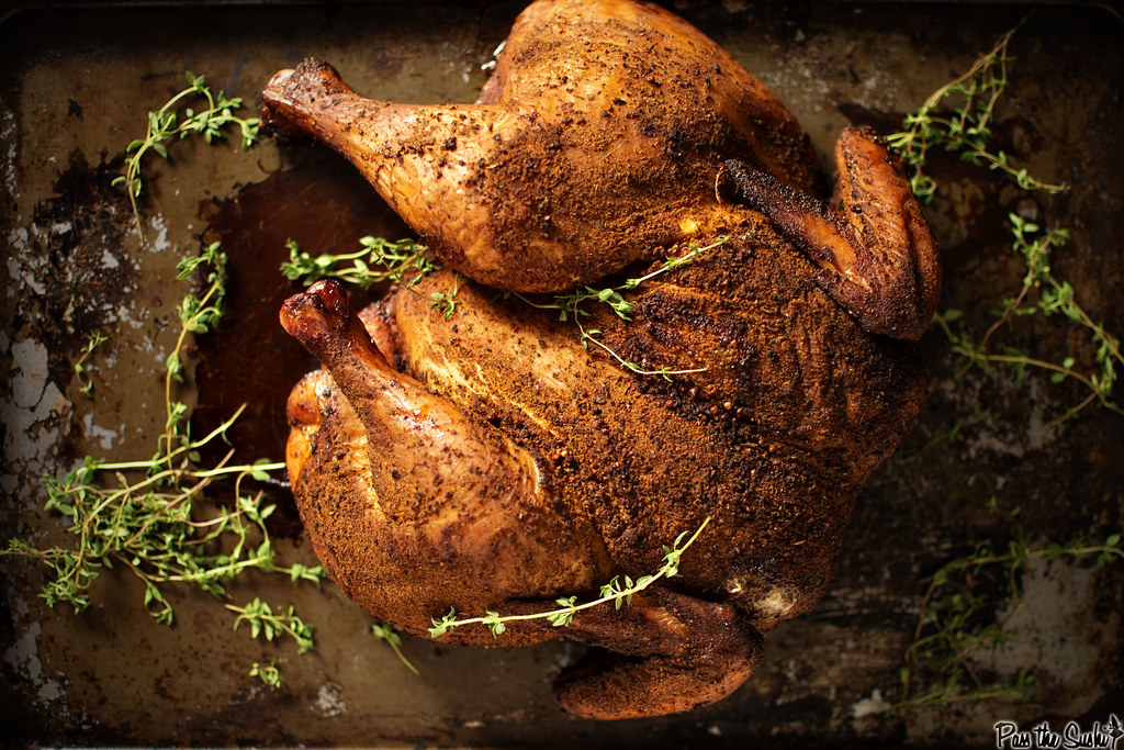 Want to smoke a delicious chicken? It really is a lot simpler than it looks.