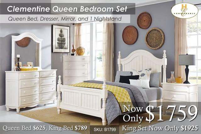 Clementine Queen Set