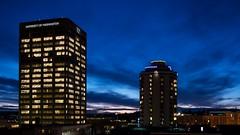 University District sunset