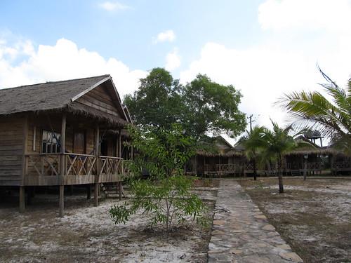 Sihanoukville: notre bungalow à Otres 1