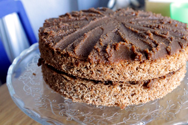 Cinnamon Cake with Brown Sugar Icing - Misericordia