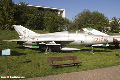 1217 - 661217 - Polish Air Force - Mikoyan-Gurevich MiG-21 U-400 - Polish Aviation Musuem - Krakow, Poland - 151010 - Steven Gray - IMG_0275