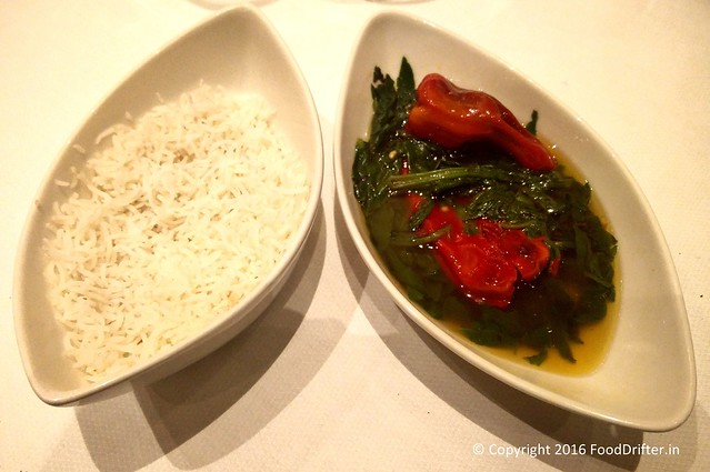Haak With Steamed Rice