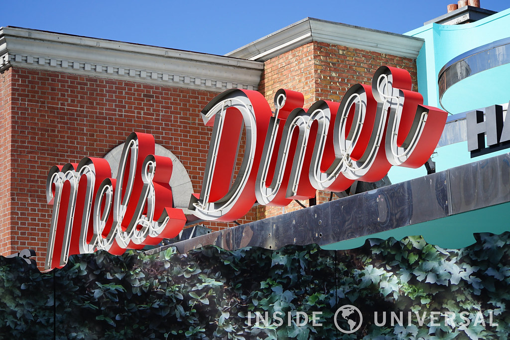 Photo Update: February 20, 2016 - Universal Studios Hollywood - Mel's Diner