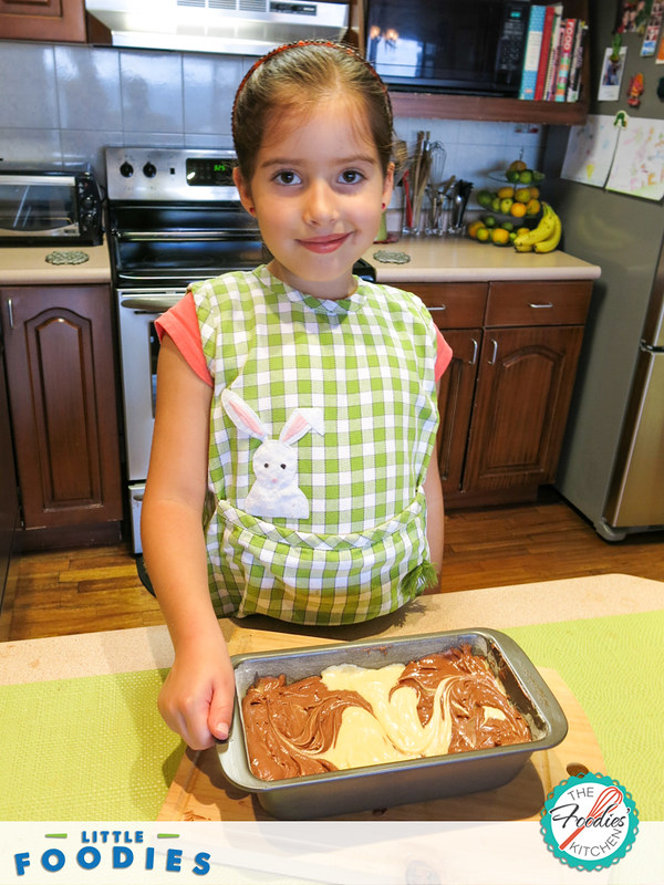 Little Foodies: Double Chocolate Marble Cake