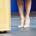 Small photo of Melania Trump feet