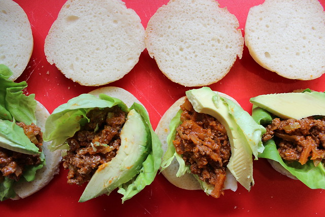 We love ours with Lettuce, Onions & Avocados!