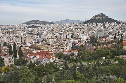 【写真】東欧周遊 : アテネ・市街地