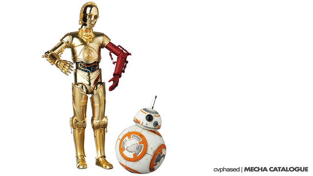 MAFEX C-3PO & BB-8 [The Force Awakens]