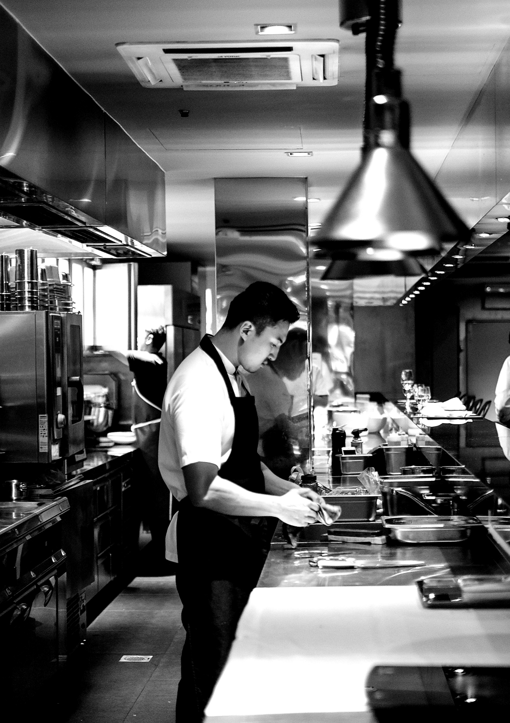 Meta Restaurant's kitchen