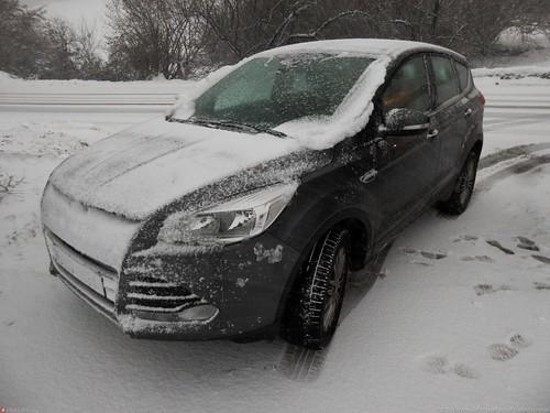 kuga snowed
