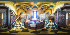 Legal Library of the Santa Barbara County Courthouse, California