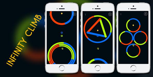 Codecanyon Infinity Climb - Color Dash