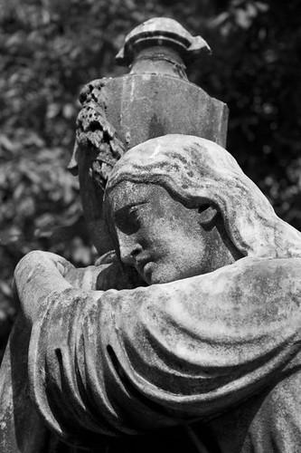 Beautiful gravestone - Kolkata, India