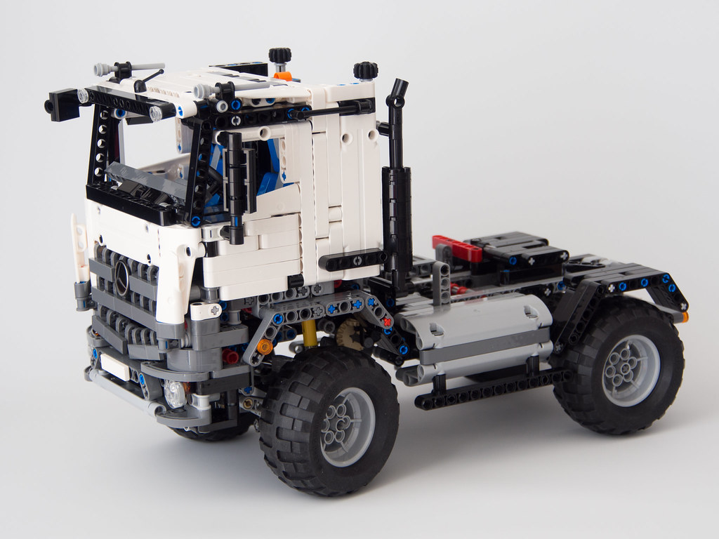 Lego Technic 42043 Mercedes Benz Arocs B Model Mod A
