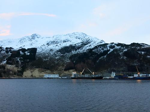 1 Mar - Sailing along Norwegian Sea