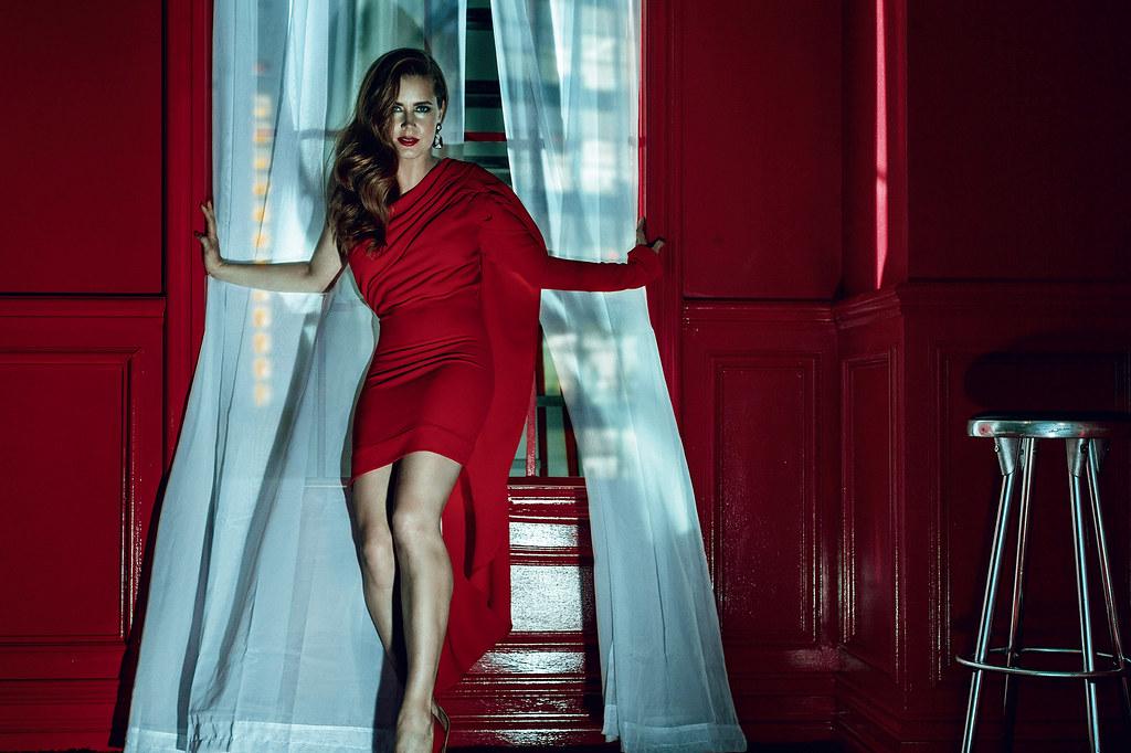 Эми Адамс — Фотосессия для «GQ» UK 2016 – 6