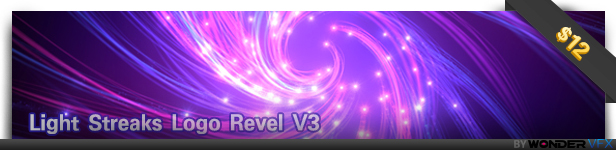 Light Streaks Logo Revel V3