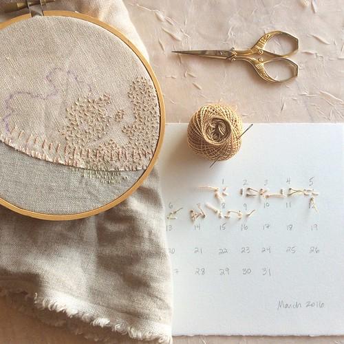 Stitch Journal, Day 69